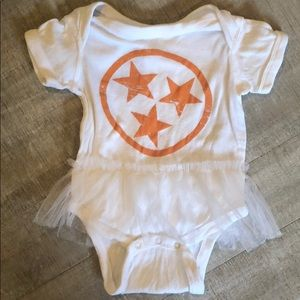 Other - SUPER cute Tennessee Onesie with Tulle 6 months